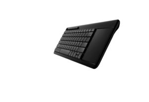 Rapoo K2600 Black Wireless Touch Keyboard Black