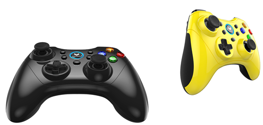 Rapoo VPRO V600S Game Pad Black and Yellow